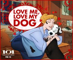 This Valentine's Day, give the gift of puppy love! Bring home 101 Dalmatians for the first time on Blu-ray, Digital HD & Disney Movies Anywhere!