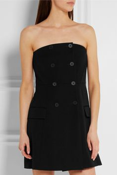 Stella McCartney | Double-breasted wool mini dress | NET-A-PORTER.COM