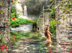 Una imagen que me remonta a los jardines colgantes de babilonia.