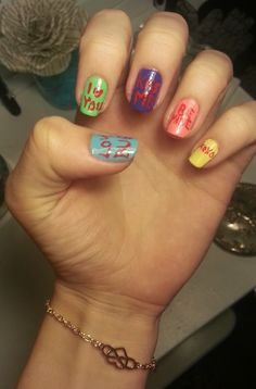 'Sweethearts' Inspired DIY Manicure