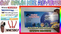 OXGORD HANDHELD SEWING MACHINE