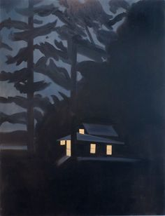 Night House I ~ Alex Katz