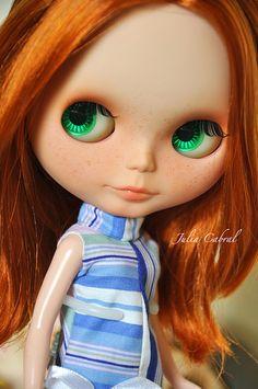 Amy - Custom Blythe #88 | Blythe full custom made by me. Bas… | Flickr