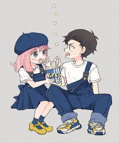 Otaku Anime, Anime Manga, Spy Cartoon, Anime Romans, Satsuriku No Tenshi, Anime Family, Cute Family, Anime Artwork, Manhwa Manga