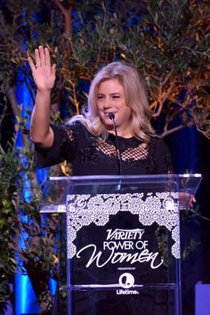 Not only did we get to sponsor the #PowerOfWomen event, but our founder Paige got to share our mission with a room full of supporters! So honored to celebrate women that have made it their life's work to make a difference. @varietyonline #makeadifference