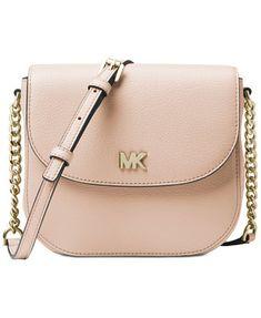Michael Kors Pebble Leather Half Dome Crossbody Handbags   Accessories -  Macy s 8a8988b6e16f