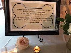 In lieu of wedding favors Charity Wedding Favors, Traditional Wedding Favours, Budget Wedding, Wedding Ideas, In Your Honor, Tiffany Wedding, Dog Wedding, Dog Stuff, Special Day