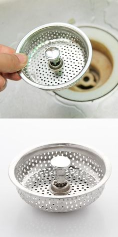 Visit To Buy Donyummyjo Stainless Kitchen Sink Strainer Water Drain Plug Sink Stopper Filter