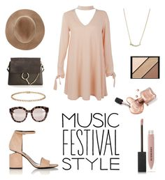 """""""Music festival"""" by vintagedaisy1 ❤ liked on Polyvore featuring Alexander Wang, Boohoo, Eugenia Kim, Chloé, Cartier, Dolce&Gabbana, Kendra Scott, Burberry and Elizabeth Arden"""
