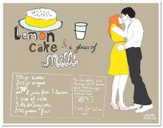 Lucky lucy`s lemon cake