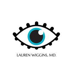 """Logo Design for Ophthalmologist Lauren Wiggins, MD, designed by Moksha Media - Daymond E. Lavine aka Daymond """"The Brands"""" Media Logo, Best Logo Design, Cool Logo, Web Development, Branding, Logos, Brand Management, Best Logo, Logo"""