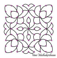Rangoli Designs with Dots for Ugadi More