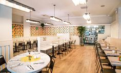 Three years ago, in a bid to fill her need to be able to access an egg sandwich at any time of the day, Sarah Schneider teamed up with her partner (now husband) Demetri Makoulis and chef Nick Korbee (also a partner in the restaurant) to open Egg Shop i...