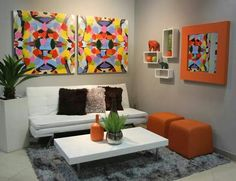 Decora Home store located in Puerto Rico Love it! Living Room Decoration!