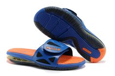 cffee5cb3 Buy New Superhero Nike Air LeBron 2 Elite Slide Sandal Hyper Blue Bright  Citrus-Black Fashion Shoes Shop
