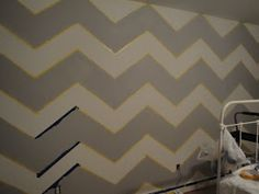 Olivia Grayson Interiors: How To Paint a Chevron Wall