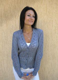 Жакет с листочками от Ledi Ti. Обсуждение на LiveInternet - Российский Сервис Онлайн-Дневников