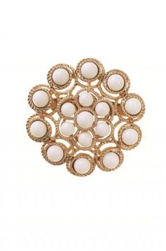 Brooch to go with your La Coco Rope Necklace!   www.stelladot.com/molliemcmillan