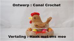 pulcino Amigurumi (tutorial-schema)/ how to crochet a chick Amigurumi Crochet Birds, Easter Crochet, Crochet Animals, Crochet Baby, Free Crochet, Amigurumi Tutorial, Crochet Amigurumi, Amigurumi Patterns, Crochet Toys