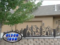 "Olson Plasma Cutting CNC System, ""Another Awesome Job by Olson Iron"" #olsoniron #LASVEGAS"