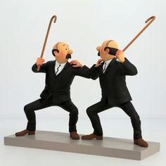 Statuette Dupondt - collection Privilège   Tintin Boutique