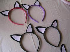 cat ear head bands