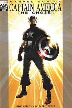 Captain America: The Chosen # 2 (Variant) by Travis Charest