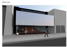 Prada Store Exterior Rendering