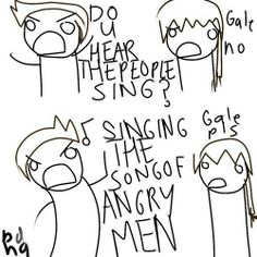 GALES SINGING MA SONG! AHH! :D