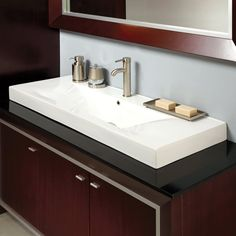 Decolav 146 City View Semi Recessed Vitreous China Vessel Sink - $707.17