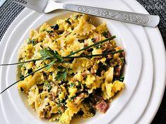 Prudko žravé cestoviny na slovenský spôsob - recept   Varecha.sk Risotto, Pasta, Ethnic Recipes, Food, Essen, Meals, Yemek, Eten, Pasta Recipes