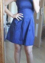 sukienka granatowa camaieu roz.34