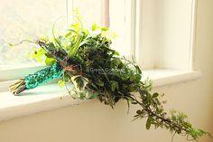 All green bouquet