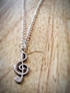 EXO Next Door Inspired Treble Clef Charm Necklace // I really want this <3
