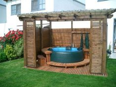 25 Most Mesmerizing Hot Tub Cover Ideas for Ultimate Relaxing Time - GODIYGO.COM