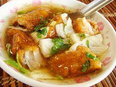 Mackerel Nugget Soup. Tainan  #Taiwan 台南 土魠魚羹