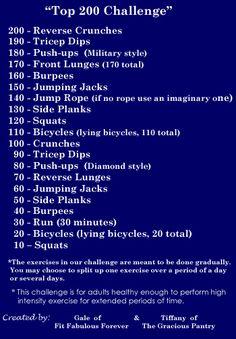 200 Workout!