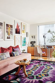 Yasmina Benazzou's NYC Home Is All About Color