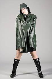 Afbeeldingsresultaat voor rubber rainponcho
