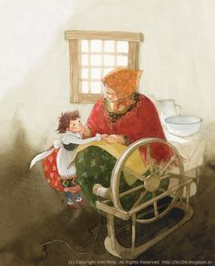 Mary Engelbreit, Children's Book Illustration, Watercolor Illustration, Kim Min Ji, Illustrations And Posters, Book Characters, Pictures To Draw, Vintage Books, Childrens Books