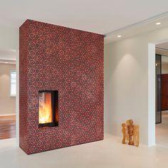 KARAK raku fired tiles @bentlage Foto: Daniel Wagner Tiles, Jan 20, Flooring, Interior, Wall, Red, Objects, Instagram, Home Decor