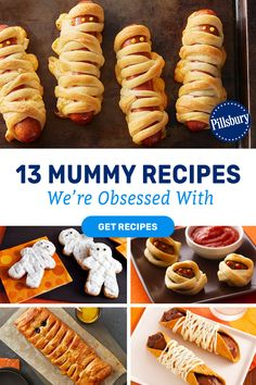 From classic Pillsbury Crescent Dogs to Mummy Head Candy Apples we've got your family's new favorite Halloween traditions all wrapped up.