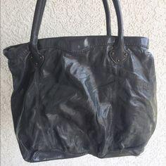 Gray Gap Bag Shiny, gray, and big! GAP Bags