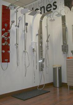 Tu ducha en un #spa . Columnas de hidromasaje.