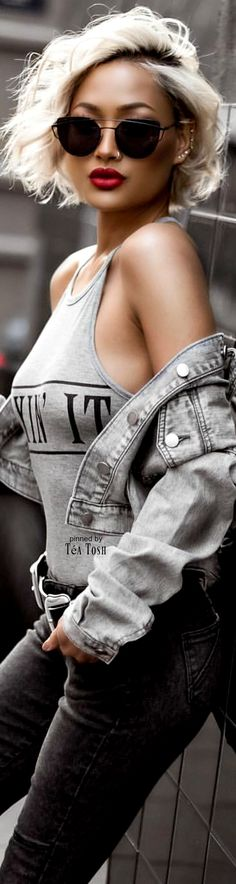 ❇Téa Tosh❇ Micah Gianneli • Street CHIC • ❤️ Curated by Babz™ ✿ιиѕριяαтισи❀ #abbigliamento