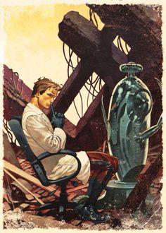 Ultron is killed by Hank Pym(#5)