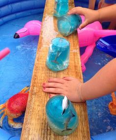 Die große Meerjungfrauenparty - jetzt auch auf dem Blog. Heute: die Spiele - von (c) www.schoenstebastelzeit.de