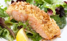 Our Crispy Potato-Crusted Salmon with Herb Salad is the perfect quick and easy weeknight dinner—using one of our favorite snacks as an unexpected and flavor-packed topping.