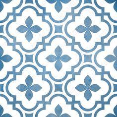 Digital tiles, Blue and white ornate wall decor, printable geometric wall art, tile pattern prints square each, DIY geo home decor Wall Art Sets, Wall Art Prints, Keramik Design, White Wall Decor, Blue Floor, Geometric Wall Art, Art Mural, Tile Patterns, Fabric Patterns