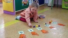 9. Sesión 16/03/2016 - ABN INFANTIL Montessori Math, Montessori Education, Preschool Classroom, Kindergarten Math, Sensory Activities, Preschool Activities, Number Games, Math For Kids, School Resources